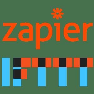 Zapier & IFTTT Logos