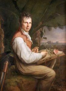 Portrait of Alexander von Humboldt by Friedrich Georg Weitsch, 1806 - via Wikipedia